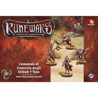 RuneWars Il Gioco di Miniature: Uthuk - Comando di Fanteria degli Uthuk Y'llan