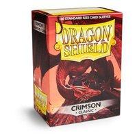 Bustine Standard Dragon Shield 100 (CREMISI)