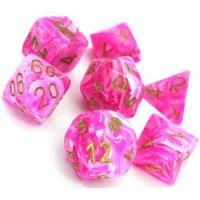 Set di Dadi Vortex (Rosa, Oro)
