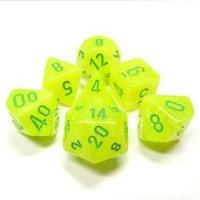 Set di Dadi Vortex (Giallo Elettrico, Verde)