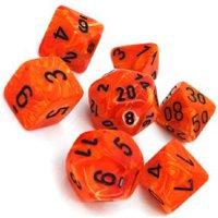 Set di Dadi Vortex (Arancione, Nero)