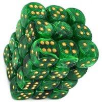 Set di Dadi 36D6 Vortex (Verde, Oro)