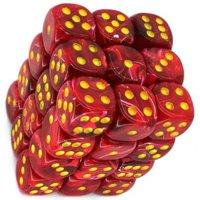 Set di Dadi 36D6 Vortex (Rosso, Giallo)