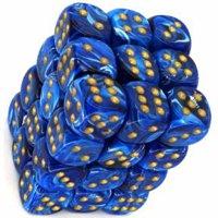 Set di Dadi 36D6 Vortex (Blu, Oro)