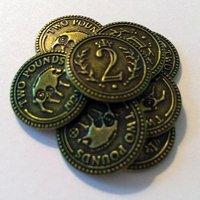 Scythe: Monete in Metallo da 2