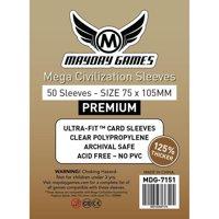Bustine Premium Mega Civilization Mayday 50 (75x105)
