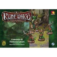 RuneWars Il Gioco di Miniature: Latari - Comando di Fanteria Latari