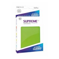 Bustine Japanese Ultimate Guard Supreme UX 60 (VERDE CHIARO)