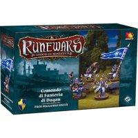 RuneWars Il Gioco di Miniature: Daqan - Comando di Fanteria di Daqan