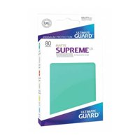 Bustine Standard Ultimate Guard Supreme UX 80 (TURCHESE)