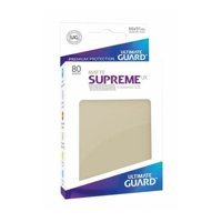 Bustine Standard Ultimate Guard Supreme UX 80 (SABBIA)