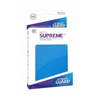 Bustine Standard Ultimate Guard Supreme UX 80 (AZZURRO)