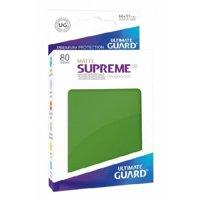 Bustine Standard Ultimate Guard Supreme UX Matte 80 (VERDE)