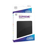 Bustine Standard Ultimate Guard Supreme UX Matte 80 (NERO)