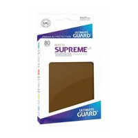 Bustine Standard Ultimate Guard Supreme UX Matte 80 (MARRONE)