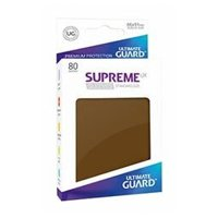Bustine Standard Ultimate Guard Supreme UX 80 (MARRONE)