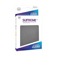 Bustine Standard Ultimate Guard Supreme UX 80 (GRIGIO SCURO)