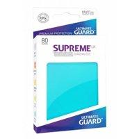 Bustine Standard Ultimate Guard Supreme UX 80 (ACQUAMARINA)