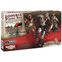 Set Colori: Zombicide Black Plague - Zombie Paint Set
