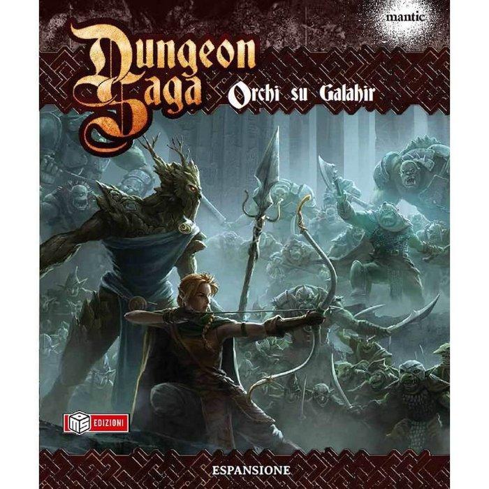 Dungeon saga orchi su galahir di ms edizioni gioco da - Dungeon gioco da tavolo ...