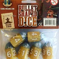 Tiny Epic Western: Bullet Shaped Dice