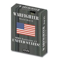 Warfighter: The WWII Tactical Combat Card Game - United States -1