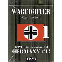Warfighter: The WWII Tactical Combat Card Game - Germany -1