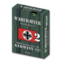 Warfighter: The WWII Tactical Combat Card Game - Germany -2