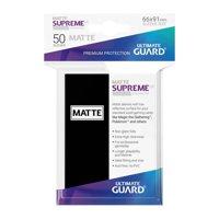 Bustine Standard Ultimate Guard Supreme Matte 50 (NERO)