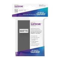 Bustine Standard Ultimate Guard Supreme Matte 50 (GRIGIO)