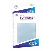 Bustine Standard Ultimate Guard Supreme Matte 50 (TRASPARENTE)