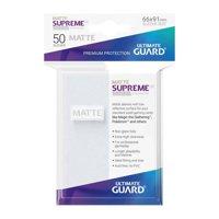 Bustine Standard Ultimate Guard Supreme Matte 50 (GHIACCIO)