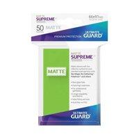 Bustine Standard Ultimate Guard Supreme Matte 50 (VERDE CHIARO)