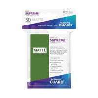 Bustine Standard Ultimate Guard Supreme Matte 50 (VERDE)
