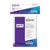Bustine Standard Ultimate Guard Supreme Matte 50 (VIOLA)
