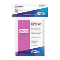 Bustine Standard Ultimate Guard Supreme Matte 50 (ROSA)