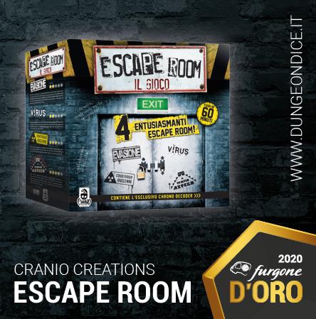Escape Room - Furgone D'Oro 2020 - Cranio Creations