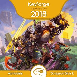 Furgone d'Oro 2018 - Keyforge - Il Richiamo degli Arconti - Asmodee Italia